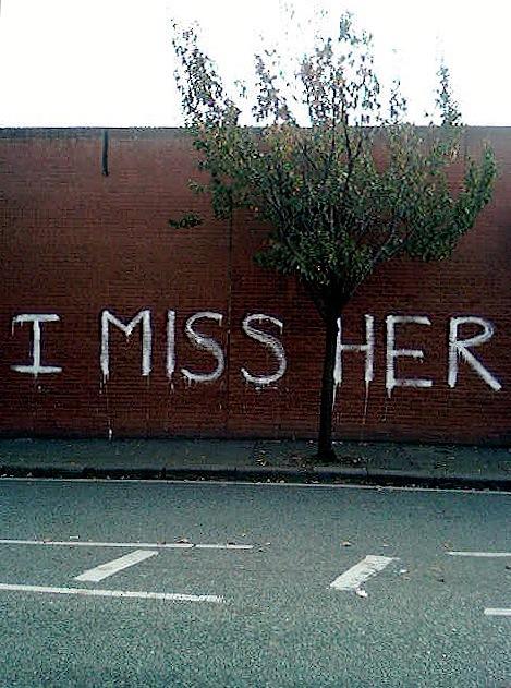 A wall I miss Her - Holistic Therapist magazine