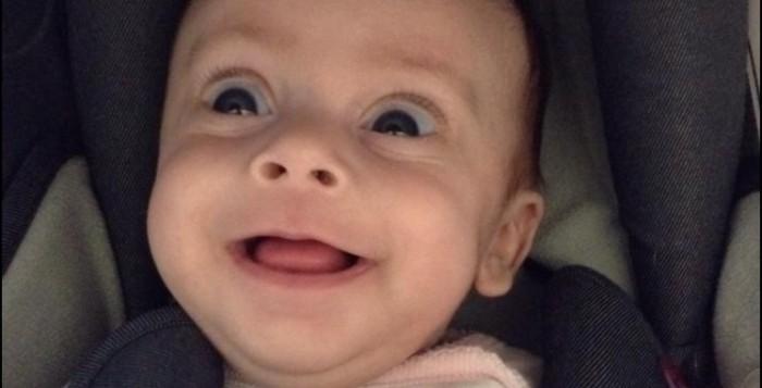 Holistic Therapist Magazine, smiling baby Jess