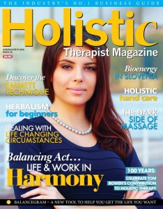 Holistic Therapist Magazine Issue 18 Cover