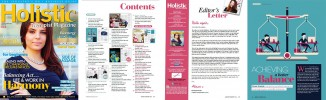 Holistic Therapist Magazine Current Issue - Issue 18 Preview