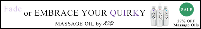 Keep It Quirky Massage Oil Sale Banner and Link