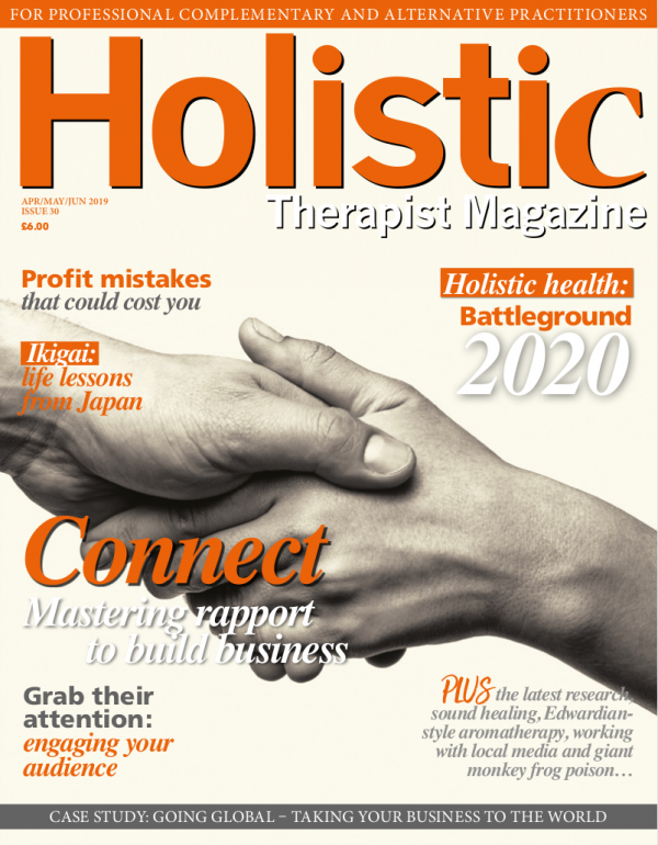 Holistic Therapist Magazine – Issue 30