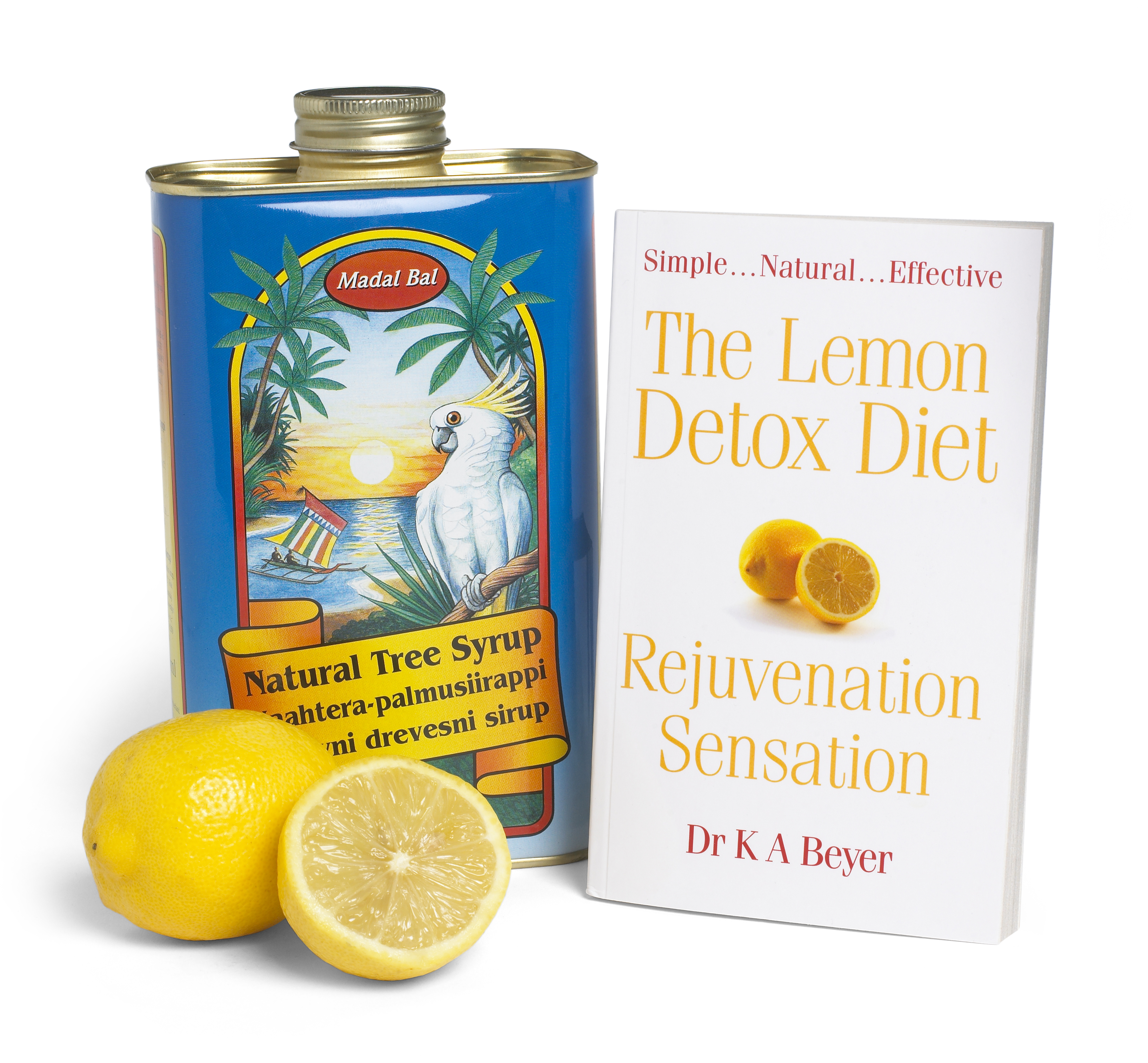 Lemon Detox book and can shot (2)